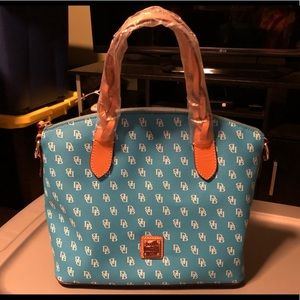 Dooney & Bourke DB Signature Satchel Purse